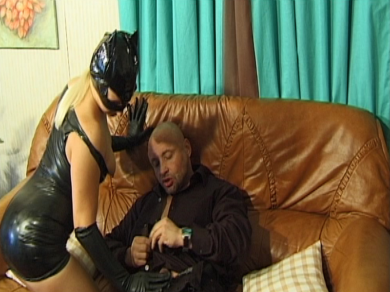 2 couples in latex sex orgy Part 2